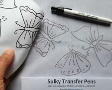 Sulky Transfer Pen Black makes easy to see iron on transfers New at  Websters