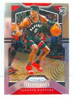 Terence Davis RC 2019-20 Chronicles Prizm Update Rookie Card #509 Raptors ERROR