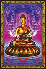 "Buddha Non-Flocked Laminated Blacklight Poster - 24.5"" x 36.5"""