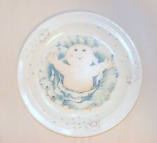 1984 Royal Worcester Cabbage Patch Kids Fine White Porcelain Plate