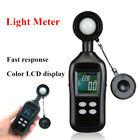 200,000 Light Meter Luminometer Photometer Temperature Tester Color LCD Display
