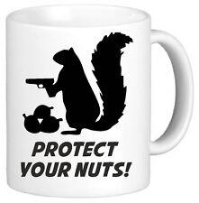 Protect Your Nuts Funny Novelty Mug Cup Gift Secret Santa Xmas Gift Present
