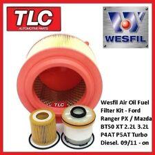 WK56 Air Oil Fuel Filter Kit Ranger BT-50 2.2L 3.2L TDCI PX XT P4AT P5AT 11-On