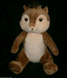 """14"""" BABW BUILD A BEAR BROWN ALVIN AND THE CHIPMUNKS STUFFED ANIMAL PLUSH TOY"""