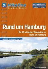 Rund um Hamburg,Hikeline Wanderführer