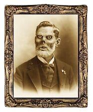 HUGE Demon Monster Gramps Pappy LENTICULAR PICTURE PORTRAIT Halloween Prop Decor