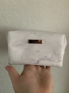 Small Make Up Bag Style Marble Design Makeup  *defect Marks Cosmetic Travel