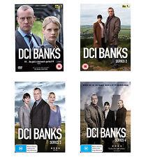 DCI Banks Series Season 1, 2, 3 & 4 DVD Set R4 New & Sealed