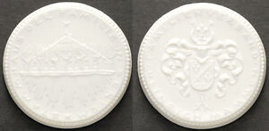 Seriem, Ostfriesland, Familie Mammen, Medaille Porzellan Meissen, Sch.2258.n