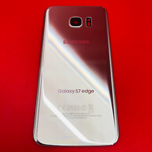 ORIGINAL Samsung Galaxy S7 Edge SM-G935 SILVER Replacement Back Glass Genuine A