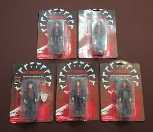 My Chemical Romance Action Figure Set RARE Gerard Mikey Frank Ray Bob