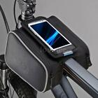 Roswheel Cyling Bike Bicycle Frame Double Pouch Pannier Front Tube Bag Pouch