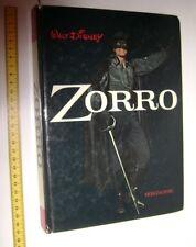ZORRO Walt Disney 1969 Mondadori italy damaged book - libro danneggiato