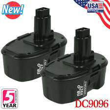 2x For DEWALT DC9096-2 18V 18 Volt Ni Cd XRP Battery Packs DC9096 DW9098 Drill A