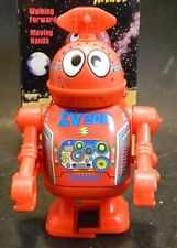 "Vintage Tin Museum Collection 4"" Windup Plastic Space Astrobot Minor New In Box"
