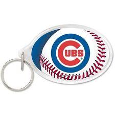 Chicago Cubs Oval Acrylic Keychain
