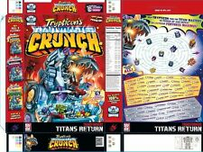 Transformers Trypticon Crunch Cereal Box 18x24 Original Promo Poster SDCC 2017