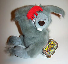 Vintage 1999 Bad Hare Day Meanie Babies Twisted Toys Plush - Series 3