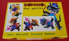 Vintage Fernand Nathan Toy Original Box - Domino des Petits !