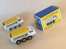 Lesney Matchbox 61 Alvis Stalwart yellow hubs & Box - RARE HTF Variation
