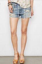 Denim & Supply Ralph Lauren Embellished Denim Shorts-30