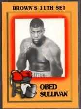 1997 Brown's Boxing #76 Obed Sullivan