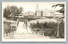 Causapscal Quebec RPPC Rare Antique Photo Postcard CPA Matapedia AZO 1930s