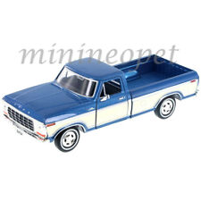 MOTORMAX 79346 1979 FORD F-150 1/24 with WHITE WALL TIRES 2-TONE CREAM / BLUE