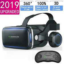 Virtual Reality VR Headset 3D Glasses With Remote for IOS Android iPhone Samsung