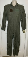 Flight Suit 40R Military Coveralls Overalls USAF Army Men's Flyer