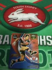 2008 Smiths Footy Legends Tazo No 32 Brad Fittler Sydney Roosters
