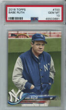 2018 Topps Babe Ruth SP PSA 10