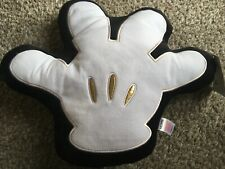 DISNEY MICKY MOUSE Cushion Pillow White Black Gold Hand BNWTS primark Home