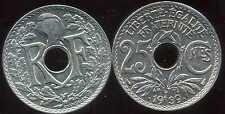 25 centimes  LINDAUER   .1939. points avant et aprés la date  SPL  ( bis )