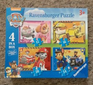 Ravensburger Paw Patrol - 4 in 1 Jigsaw Puzzle
