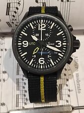 Sinn 756 S UTC German Chronograph Watch: Serviced! Bracelet, Box, and Papers!