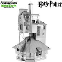Metal Earth Harry Potter The Burrow Laser Cut DIY 3D Model Hobby Building Kit