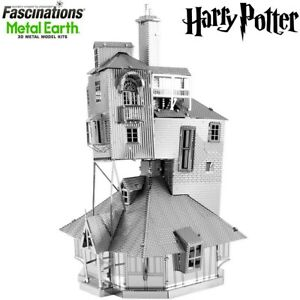 Metal Earth Harry Potter The Burrow Laser Cut DIY 3D Model Hobby Building Kit