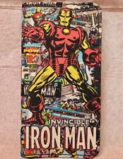 Marvel Heroes, Iron Man Button Snap Envelope Wallet! Brand New with tags!