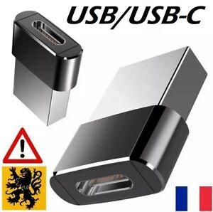 Adaptateur Connecteur Chargeur Secteur Rapide PD3.0 USB-C Type-C Iphone 12 Prise