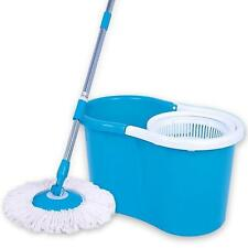 Spin Mop Magic 360 Rotating With  2 Mop Heads