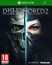 Dishonored 2 & Imperial Assassin's Pack DLC Xbox One * NEW SEALED PAL *