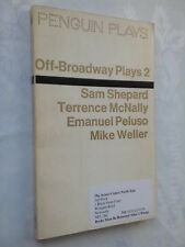 OFF-BROADWAY PLAYS 2.SAM SHEPHARD.T McNALLY.E PELUSO.M WELLER.1ST PENGUIN 1972
