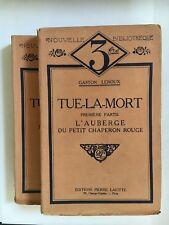 Gaston Leroux, Tue La Mort, French, Mystery, Books, Rare, Literature, Adventure