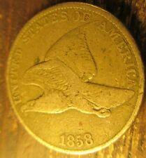 1858 Flying Eagle Cent--Penny Nice Coin  Large Letters       26171