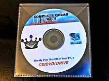 Complete Quran with English Translation 42 hours!!! Audio Book MP3 ON CD/DVD**