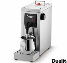 Dualit Cafe Cino Milk Steamer Coffee Machine HOME Powerful Pump Stainless Steel