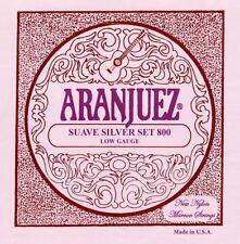 Saiten für Konzertgitarre Aranjuez Suave Silver 800 low gauge