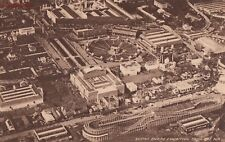 Postcard British Empire Exhibition From the Air 1924 Uk