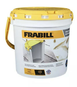 FRABILL 4822 INSULATED BAIT BUCKET Non 3rd Party I Stock And Ship